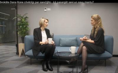 INTERVIJA AR DANU RONI – LĪGUMI, MANTAS SADALE (VIDEO)